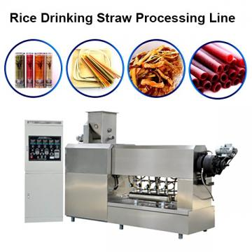 Fully Automatic Spaghetti Straws Making Machine For Plant Fibers Drinking Straw