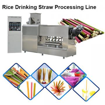 ISO9001 Certification 75kw/h Pasta Drinking Straws Making Machine