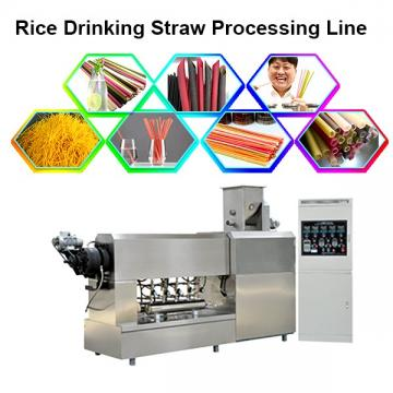 CE Certification Pasta Drinking Straws Making Machine With Tapioca Powder As Raw Materials