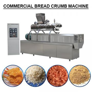 High Automation 380v/50hz Bread Crumbs Production Line Energy Saving