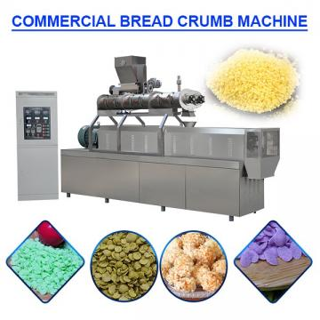 High Efficiency Automatic Bread Crumb Making Machine For Deep Fried Food