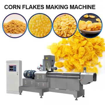 High Automation Corn Flakes Making Machine For Corn Flakes