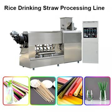Safety In Use Noiseless Running Spaghetti Straws Extruder