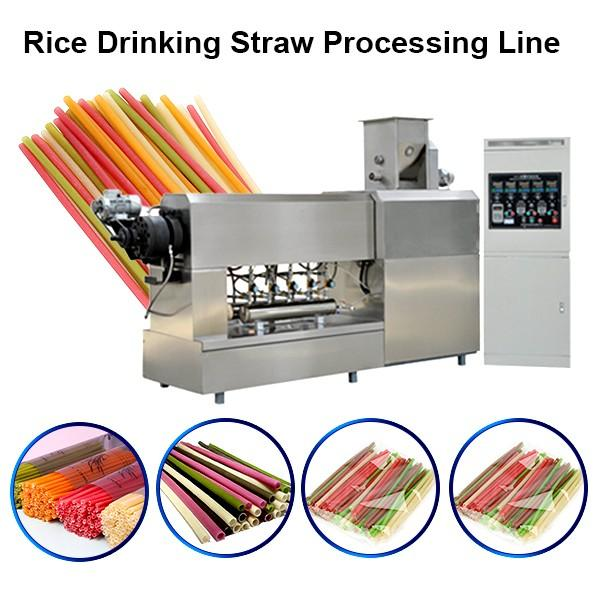 180kg/h Production Capacity Pasta Drinking Straws Extruder With Long Lifetime #1 image