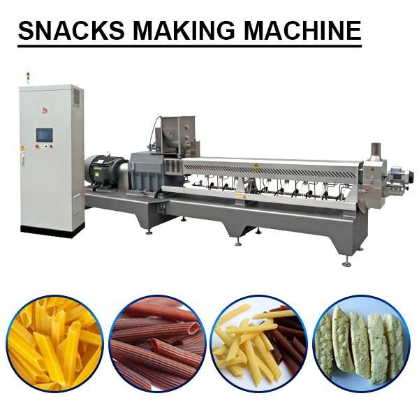 PLC Control Snacks Making Machine With High Capacity #1 image