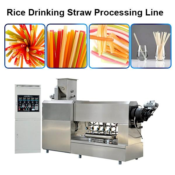 Energy Saving 30kw Pasta Drinking Straws Extruder,High Speed Low Energy #1 image
