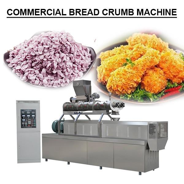 Automated Systems Stainless Steel Bread Crumbs Snack Food Extruding Machinery #1 image