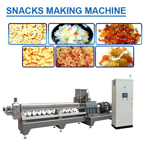 Rice Flour As Raw Material 50-60kw Snacks Making Machine For Biscuit #1 image