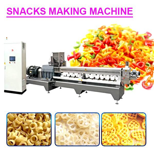 Intellectualization High Yield Snacks Making Machine,Easy To Operate #1 image