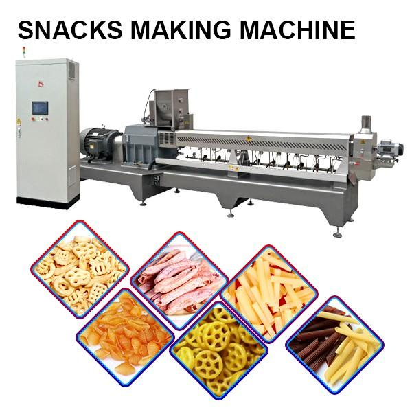 120kw Snacks Making Machine With Automatic Water Cooling System #1 image