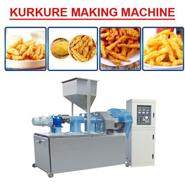 Fully Automatic Kurkure Extruder Machine For Extruded Snack #1 image