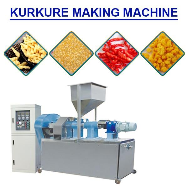 High Automation Kurkure Production Line For Crispy Cheese Snacks #1 image