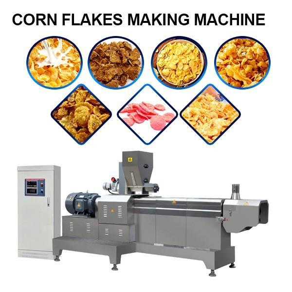 380v/50hz 304 Stainless Steel Corn Flakes Making Machine With Energy Saving #1 image